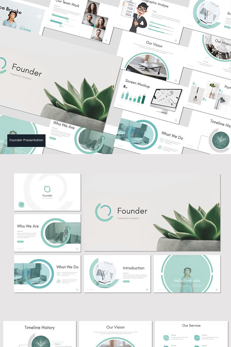 """Founder -"" Google Slides #83757"