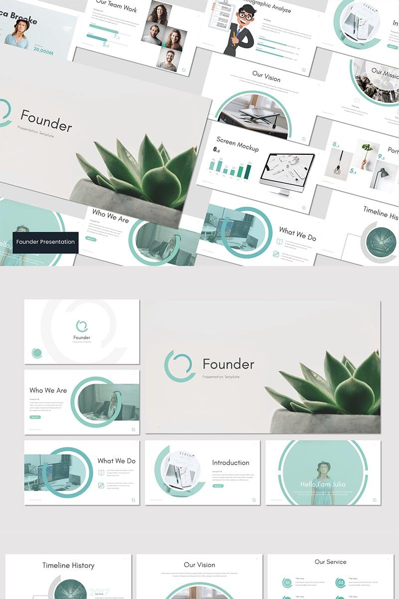 """Founder -"" Google Slides №83757"