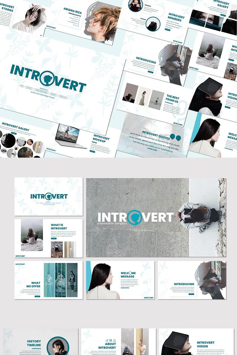"""Introvert -"" Google Slides #83750"