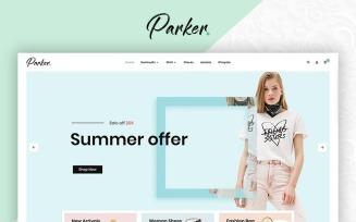 Parker Fashion Premium OpenCart Template