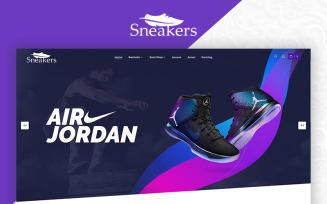 Sneakers Shoes Store Multi-Purpose OpenCart Template