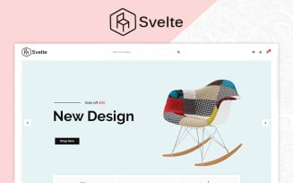 Svelte Furniture Store OpenCart Template