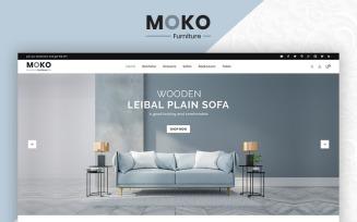 Moko Furniture Clean Store OpenCart Template