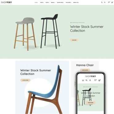 Купить  пофессиональные WooCommerce шаблоны. Купить шаблон #83885 и создать сайт.