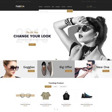 Купить  пофессиональные Shopify шаблоны. Купить шаблон #83891 и создать сайт.