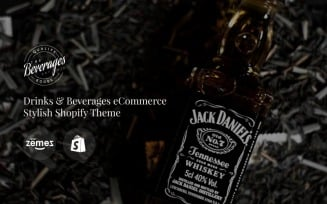 Beverages - Drinks & Beverages eCommerce Stylish Shopify Theme