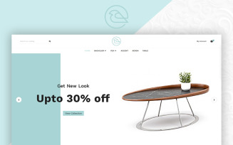 Bird - Furniture Mega Store OpenCart Template