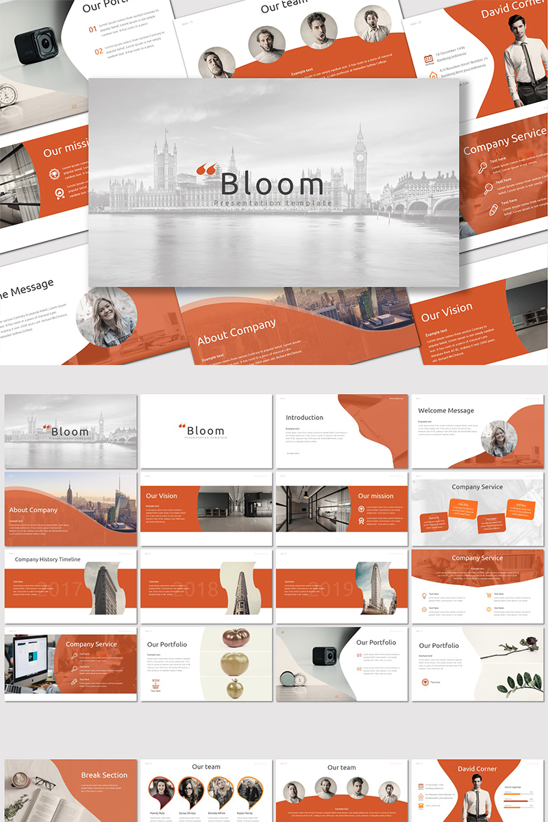 Bloom - PowerPoint Template