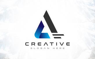 Creative Brand A - Letter Logo Design