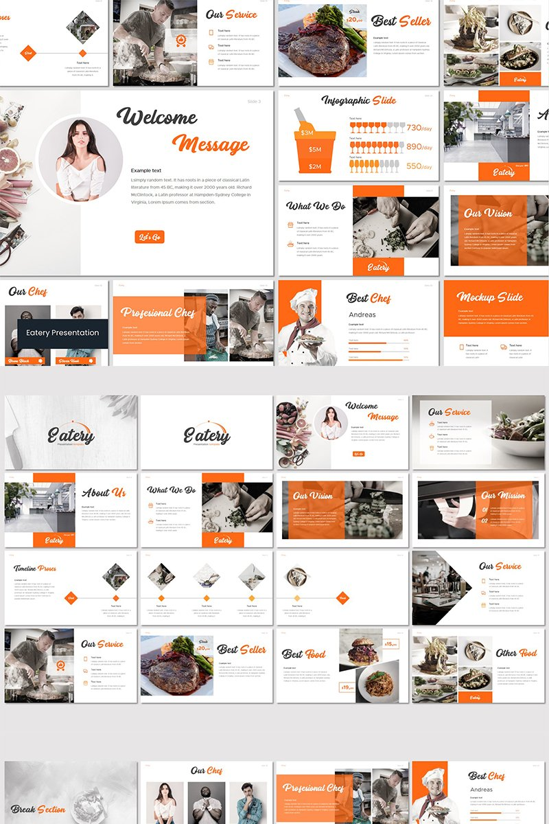 Eatery - PowerPoint Template