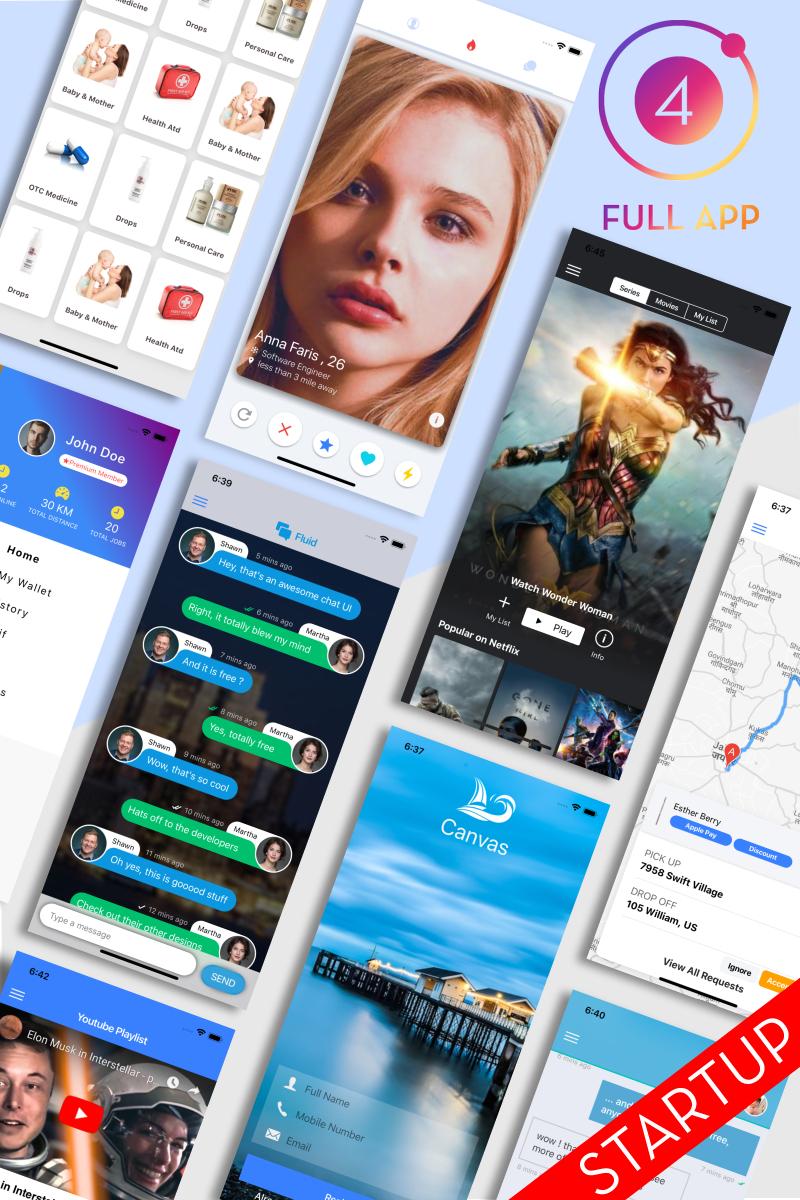 Ionic 4 Full App Template
