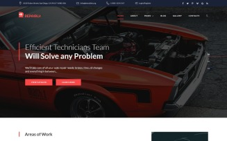 Repairly - Car Repair Company Joomla Template