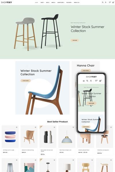 ShopFixy - Furnitures Store