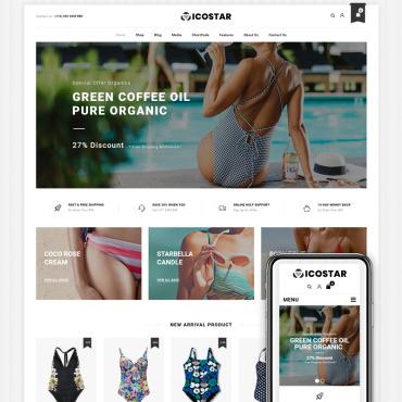 Купить  пофессиональные WooCommerce шаблоны. Купить шаблон #83938 и создать сайт.