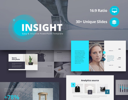 Insight Easy & Intuitive PowerPoint Template