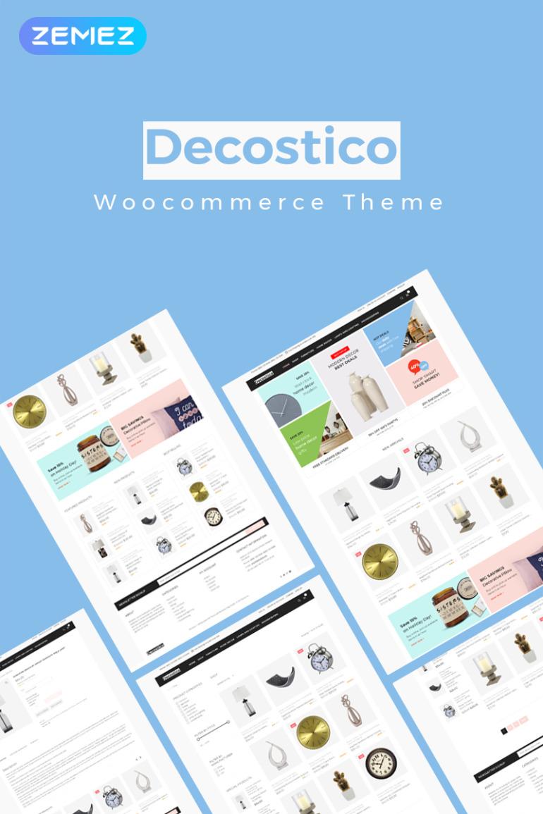 Decostico - Modern interior furniture Elementor WooCommerce Theme