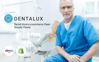 Dentalus - Dental Store eСommerce Clean Shopify Theme