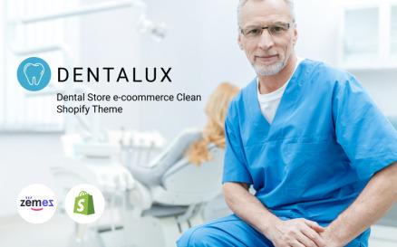 Dentalus - Dental Store e?ommerce Clean Shopify Theme