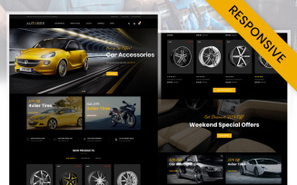 Autorry - Auto Parts Store OpenCart Template