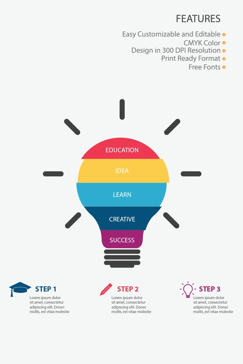"""""""Education"""" Éléments infographiques  #83991"""