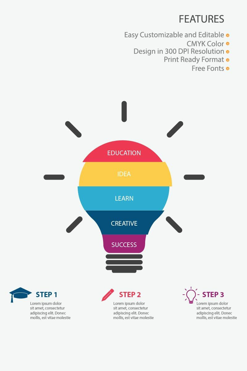 """Education"" Infographic Elements №83991"