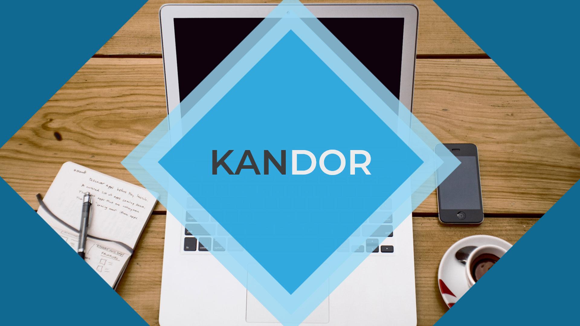 """Kondor - Business Modern"" 奖金PowerPoint 模板 #83912"