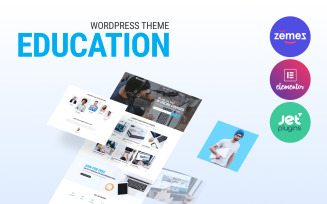 Technotour - Education Courses Minimal WordPress Elementor Theme