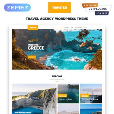 Thème WordPress  pour site d'agence de voyage