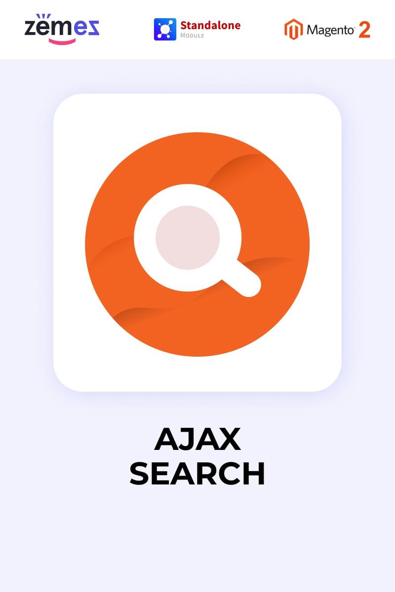 Zemez Ajax Search Magento Extension - screenshot