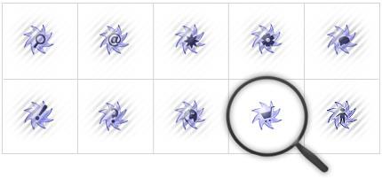 Icon Set Template 8401 Screenshots