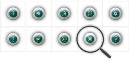 Icon Set Template 8403 Screenshots