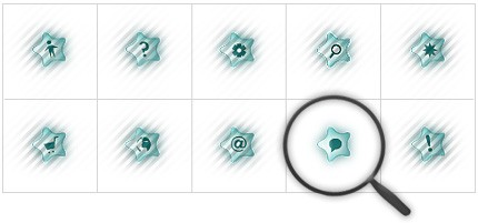 Icon Set Template 8404 Screenshots