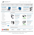 OsCommerce: Online Store/Shop Electronics osCommerce Templates