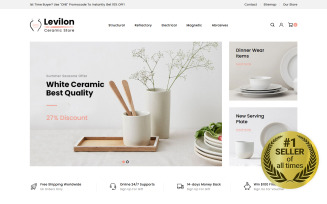 Levilon - Ceramic Store PrestaShop Theme