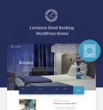 Гостиницы и отели. Шаблон сайта 84014