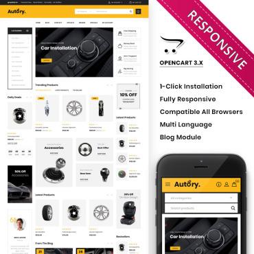 Купить  пофессиональные OpenCart шаблоны. Купить шаблон #84034 и создать сайт.