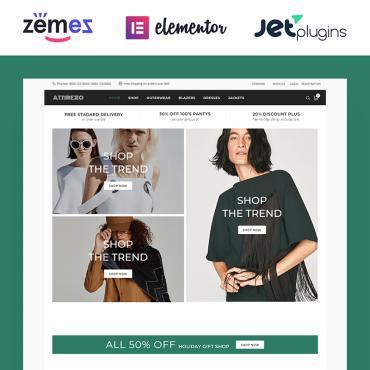 Купить  пофессиональные WooCommerce шаблоны. Купить шаблон #84081 и создать сайт.