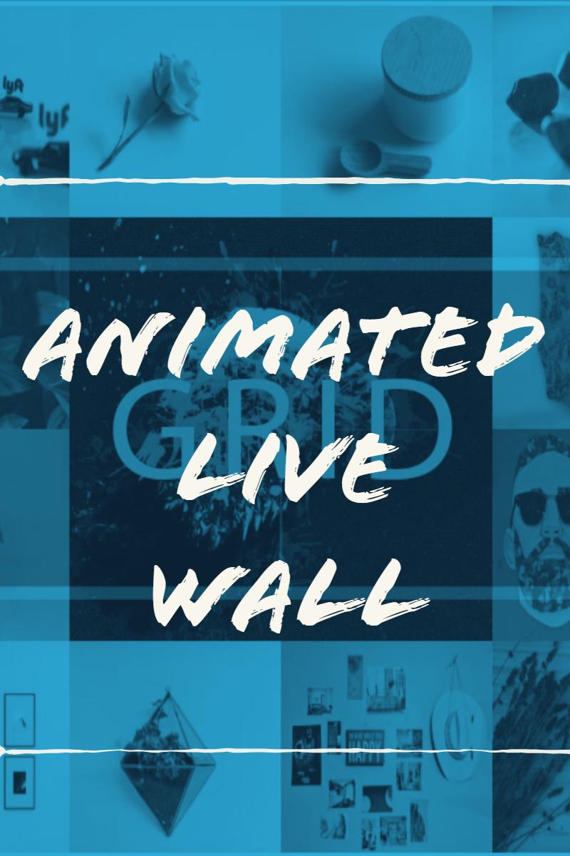 """ANIMATED LIVE WALL"" 响应式WordPress 插件 #84084"
