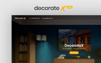 DecorateX - HTML5 Furniture & Decoration Website Template