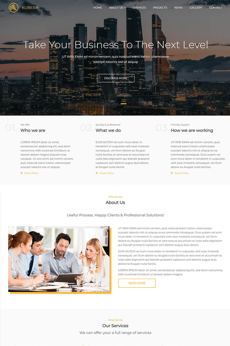 Kubera Responsive Multi-Purpose Drupal Template