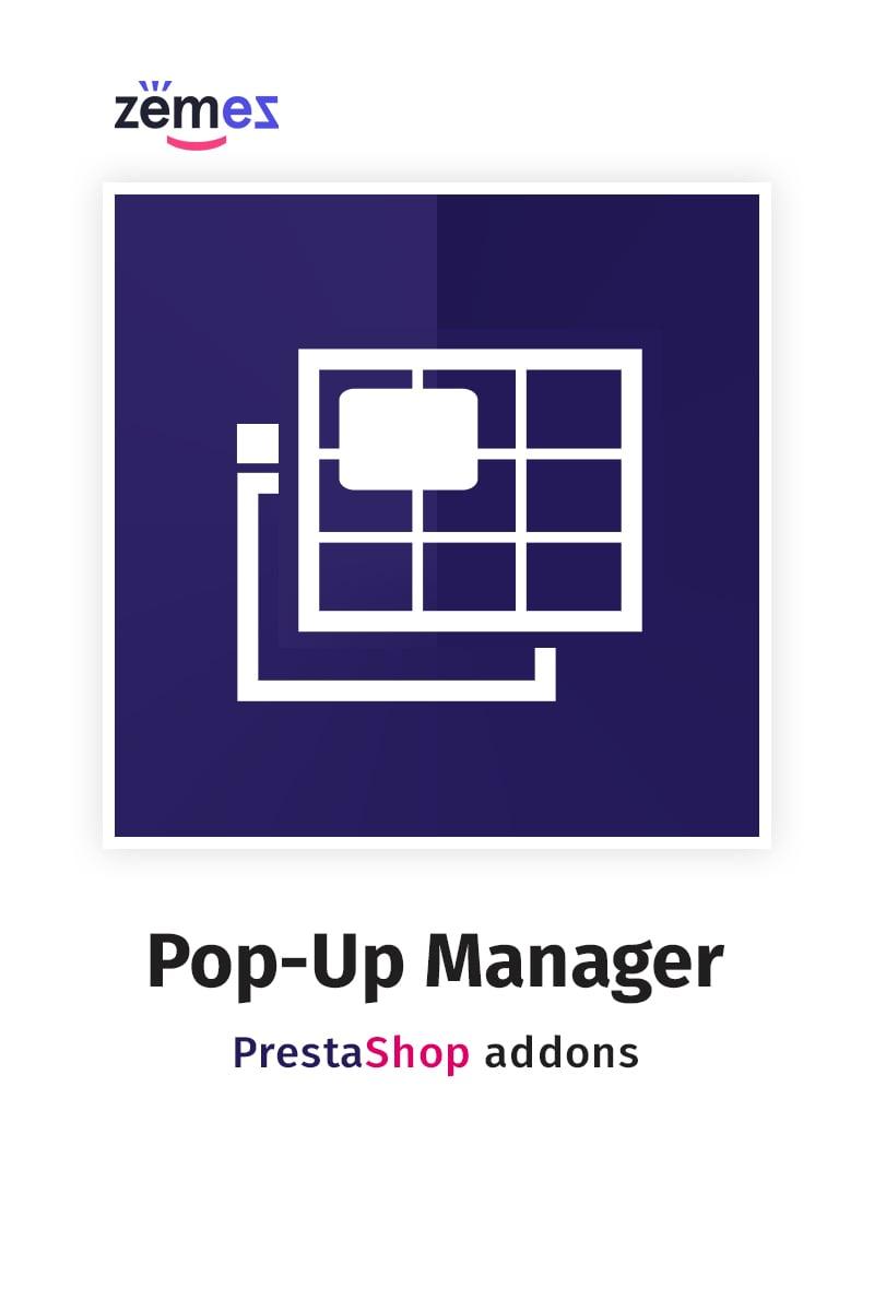 """Pop-Up Manager PrestaShop Module"" Responsive PrestaShop Uitbreiding №84024"