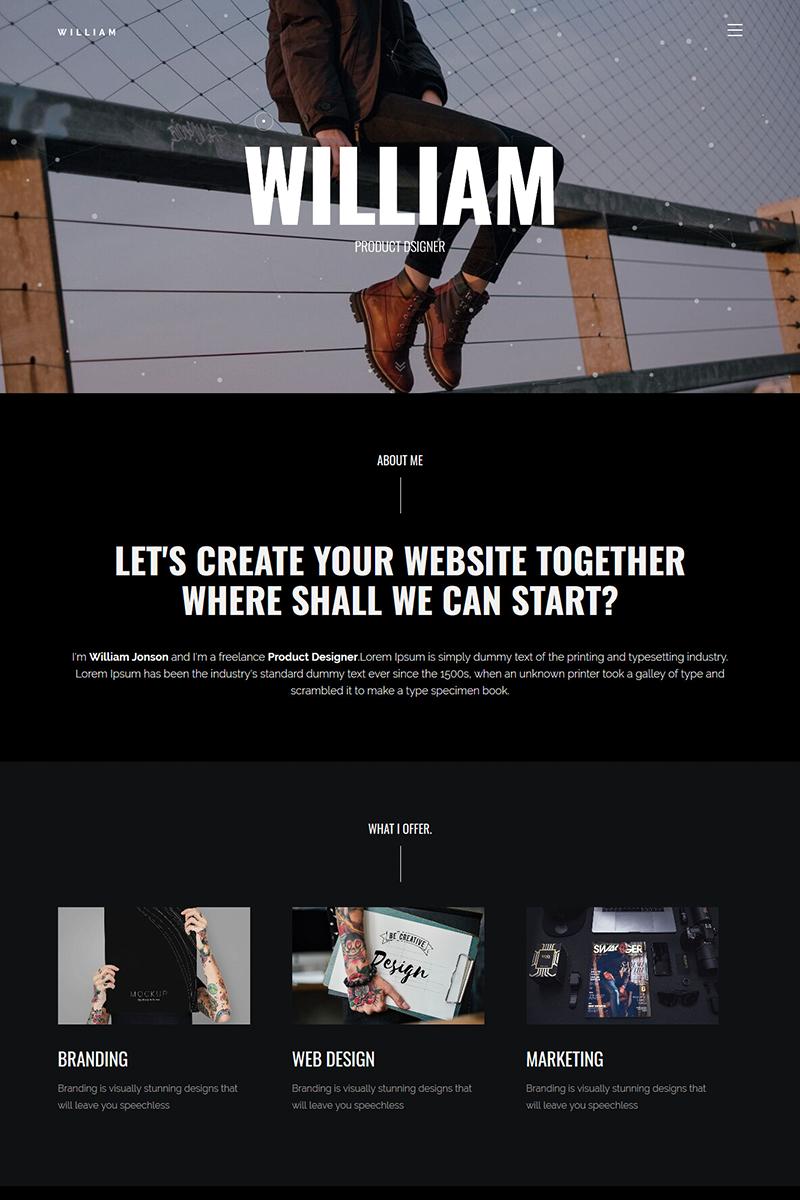 "Responzivní Šablona mikrostránek ""Vella - Creative Portfolio Showcase"" #84088"