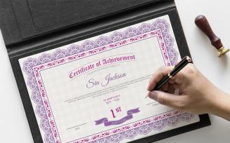 Sia Certificate Template