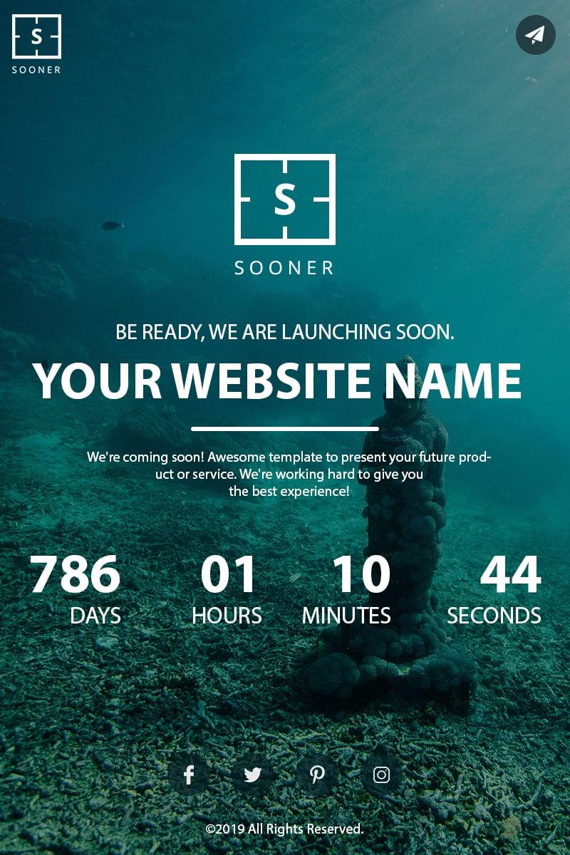 """""""Sooner"""" page de spécialité  #84043 - screenshot"""
