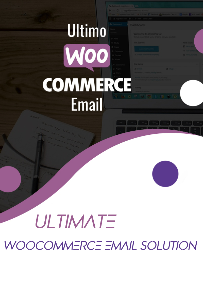 """""""Woocommerce Email"""" - WordPress плагін №84092"""