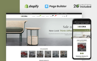Decora Furniture Store Shopify Theme