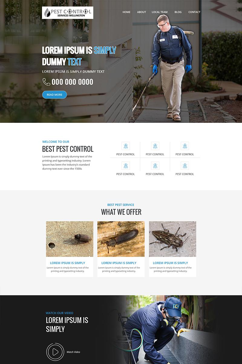 Best Pest - Pest Control Services PSD Template