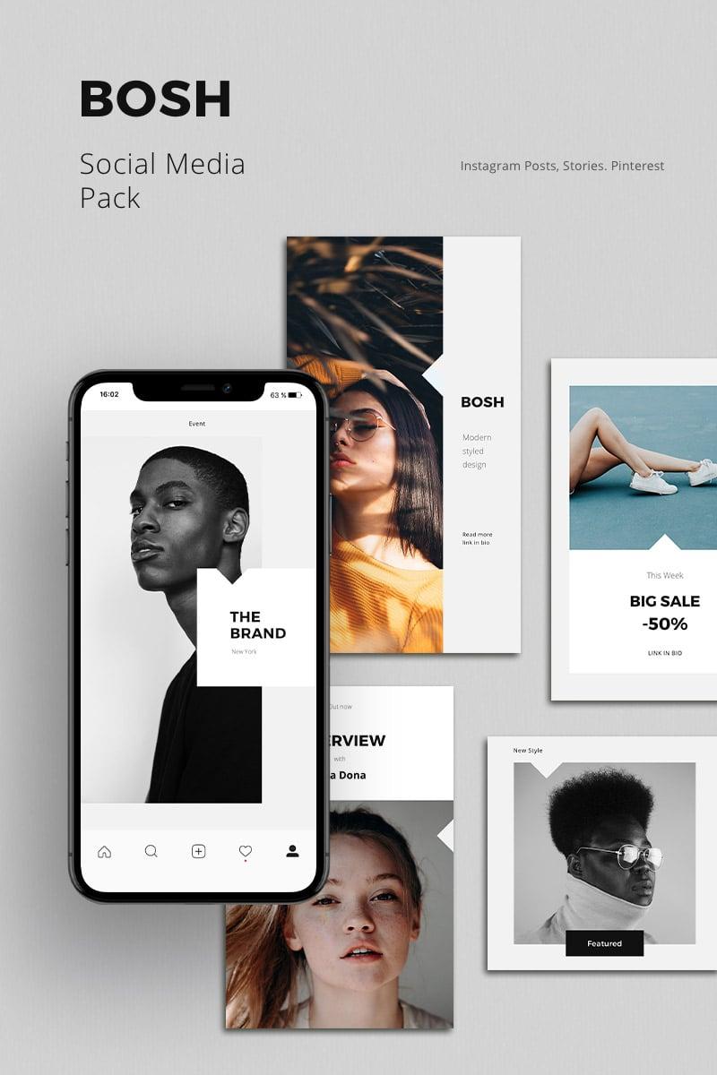 BOSH - Pack Social Media - screenshot