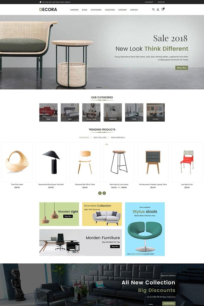 Decora Furniture Shopify Theme