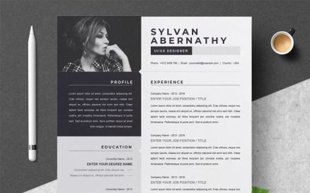 Sylvan Resume Template